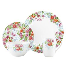 Spring Bouquet 4 Piece Place Setting