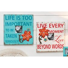 Bohemian Rhapsody Wooden Picture Frame (Set of 2)
