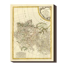 'Russia Occidentale, 1785' by Rigobert Bonne Stretched Canvas Art