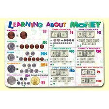 Learning About Money Placemat (Set of 4)