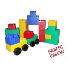 Jumbo Blocks 40 Piece Big City Playset