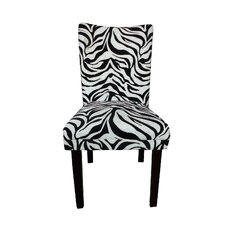 Tiger Striped Parsons Chair (Set of 2)