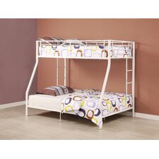 Sunrise Twin over Full Bunk Bed with Built-In Ladder