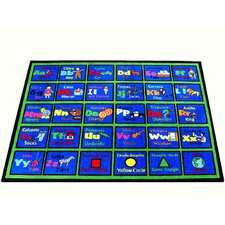 Learning Spanish Kids Rug