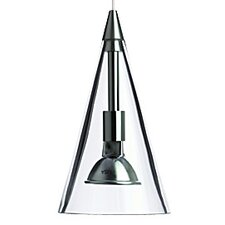 Cone 1 Light Two-Circuit Monorail Pendant