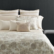 Etched Roses Cotton Duvet Cover Set