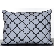 Pom Pom Embroidered Decorative Pillow