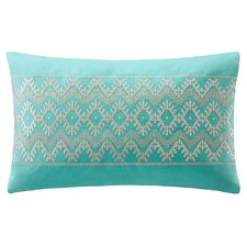 Mykonos Cotton Linen Oblong Pillow