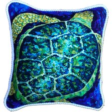 Sea Turtle Cotton Pillow