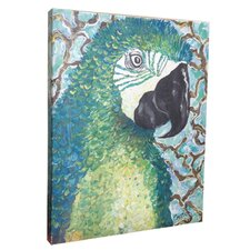 Macaw Mounted Giclee Wall Art