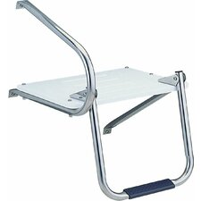 Outboard Swim Platform with Ladder