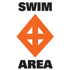 Sur-Mark Regulatory 'Swim Area' Buoy Label (Set of 2)