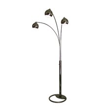 Triplet 3 Light Arc Floor Lamp