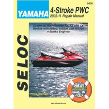 Yamaha Personal Watercraft, 2002 - 2011 Repair and Tune-Up Manual