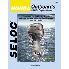 Honda Outboard, 1978 - 2001 Repair and Tune-Up Manual