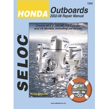 Honda Outboard, 2002 - 2008 Repair and Tune-Up Manual