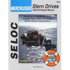 Mercruiser Stern Drive Inboard, 1992 - 2000 Repair and Tune-Up Manual