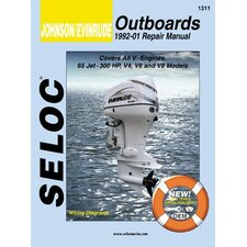 Johnson, Evinrude Outboard, 1992 - 2001 Repair and Tune-Up Manual