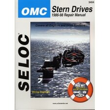 OMC Stern Drive, 1986 - 1998 Repair and Tune-Up Manual