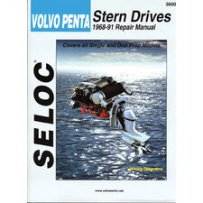 Volvo Penta Stern Drive Outboard, 1968 - 1991 Repair and Tune-Up Manual