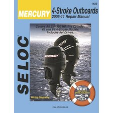 Yamaha, Mercury, Mariner Outboard, 2005 - 2011 Repair and Tune-Up Manual
