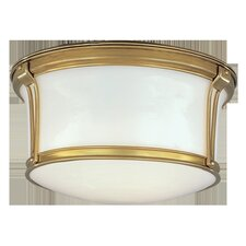Newport Flush 2 Light Flush Mount