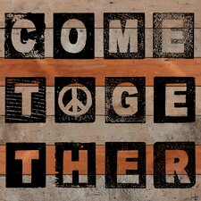 Come Together Reclaimed Wood - Douglas Fir Art