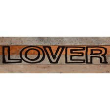 Lover Marker Reclaimed Wood - Douglas Fir Art