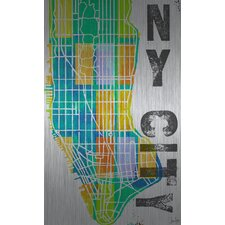 NY City Aluminum Art