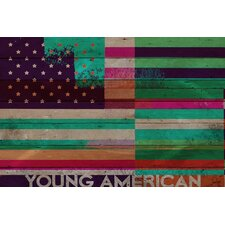 Young American Reclaimed Wood - Douglas Fir Art