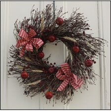 Apple Harvest Twig Wreath