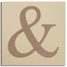 "Wood Symbol ""AND"" (Set of 50)"