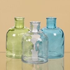 Pressed Glass Bottle