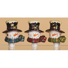 Snowman Night Light (Set of 3)