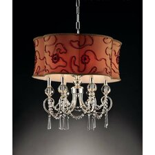 Amere 6 Light Crystal Pendant