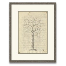 Timeless Timber Fig Tree II Wall Art