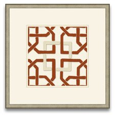 Euclid's Charm Felt Interlocking II Wall Art