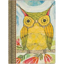 Artist Series Wise Owl Deconstructed Journal