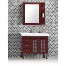 "Evelyn 35"" Bathroom Vanity Set"