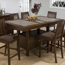 Caleb 7 Piece Counter Height Dining Set