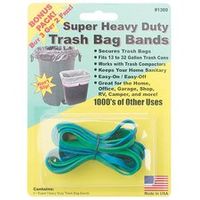 Super Heavy Duty Trash Bag Band (5 Count)