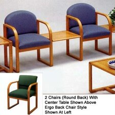 Contour Two Chairs with Ergo Back