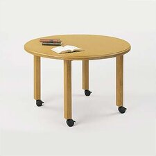 "Contemporary Series 42""  Round Gathering Table (4 post base)"