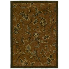 Home Nylon Garden Gate Spice Rug