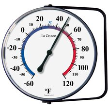 Dial Thermometer with Mounting Bracket