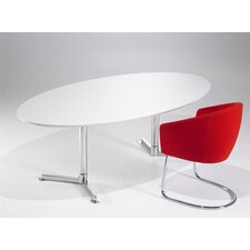 Casus Oval Conference Table by Toine van den Heuvel