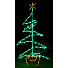 Zig Zag Tree LED Light