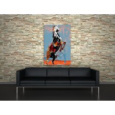 Fighting Horse Canvas Print