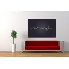 Pulse of The City Canvas Print