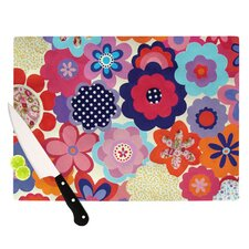 Patchwork Flowers Cutting Board